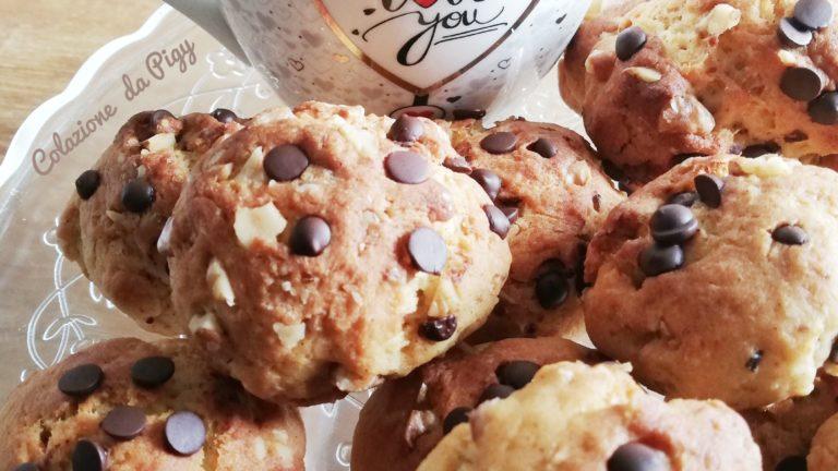 Colazione con…biscotti yogurt noci e cioccolato