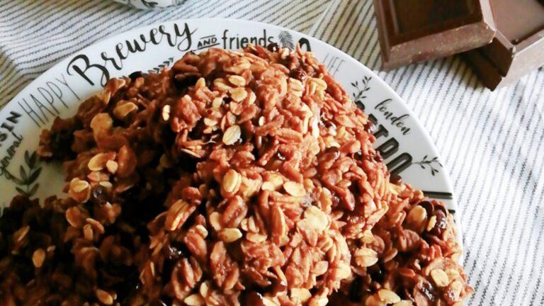 Colazione con…Biscotti fiocchi avena e banane