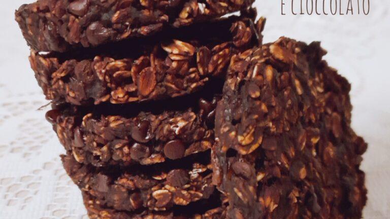 Colazione con…Biscotti avena e cioccolato