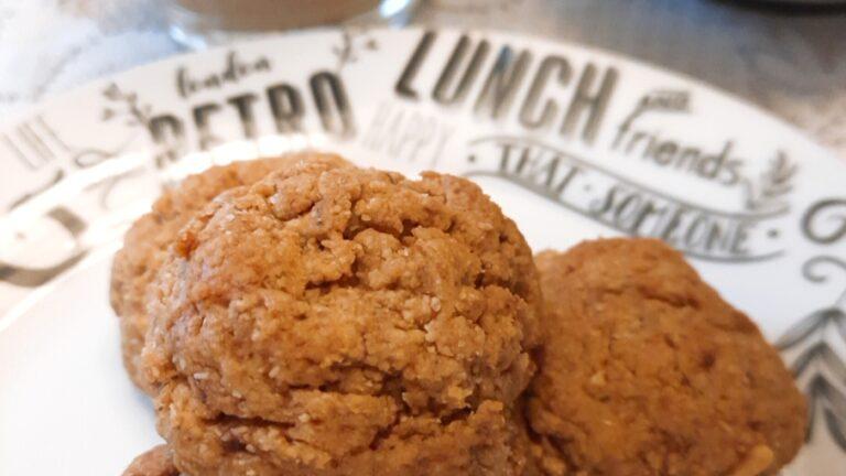 Colazione con…Biscotti vegani al burro d'arachidi