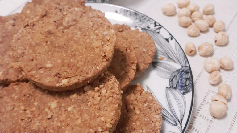 Colazione con…Biscotti integrali alle nocciole