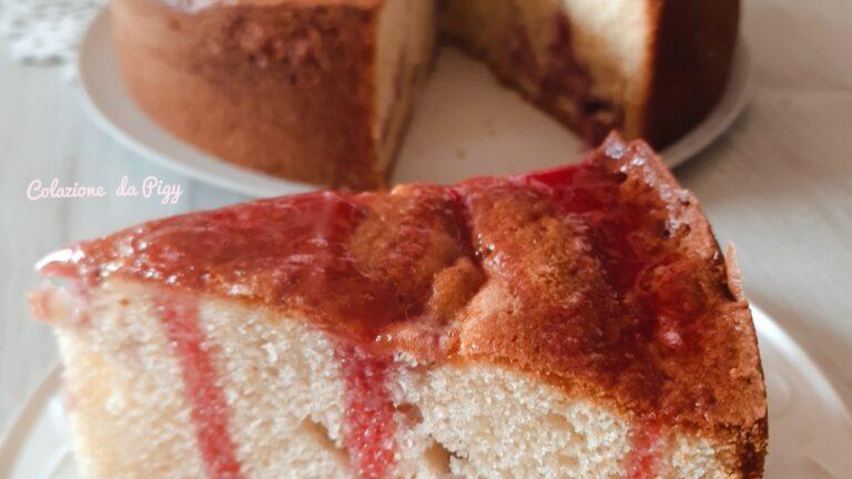 Colazione con…Torta panna e fragole