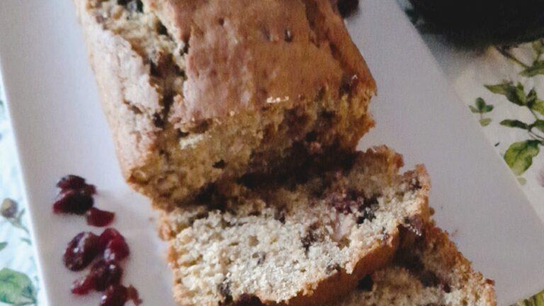 Colazione con…Plumcake mirtilli e cioccolato