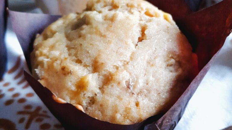 Colazione con…Muffin doppia banana