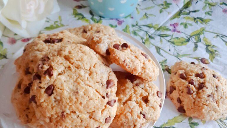 Colazione con…cookies cocco e cioccolato