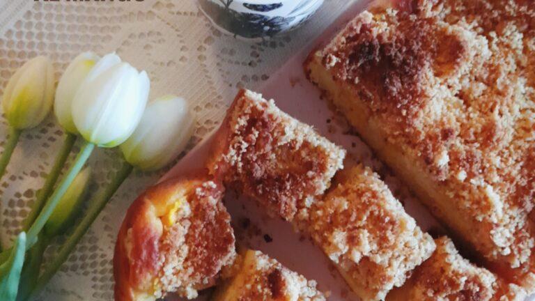 Colazione con…Torta Crumble al mango