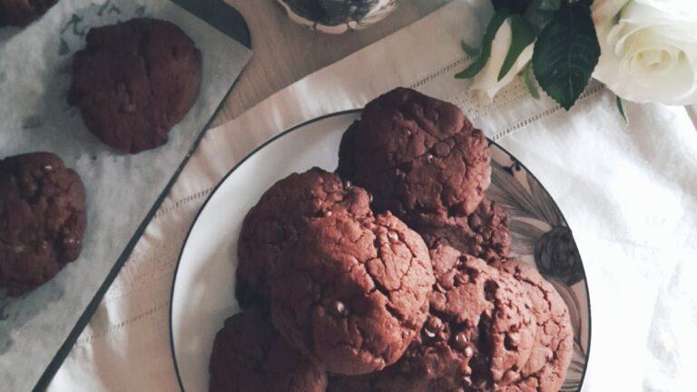 Colazione con…Cookies vegani al cioccolato